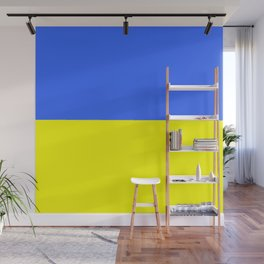 Flag of Ukraine 2 -Ukrainian,Україна, Ucrania,kiev,sevastopol Wall Mural