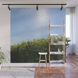Summer Photos, Nature Photography, fine art gifts, Landscape Photo, sunshine photo Wall Mural