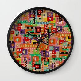 wonderlust Wall Clock