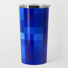 Blue Mosaic Travel Mug