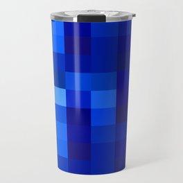 Blue Mosaic Travel Mug