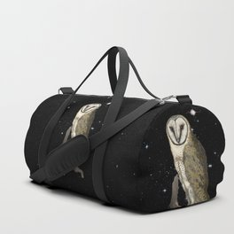 Owl in the Universe Duffle Bag