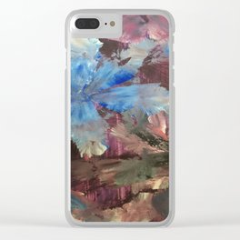Dragonfly Seduction Clear iPhone Case