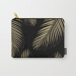 Palm Leaves - Gold Cali Vibes #4 #tropical #decor #art #society6 Carry-All Pouch