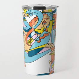 Trouser Jazz Travel Mug
