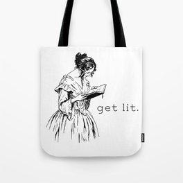 Get Lit Tote Bag