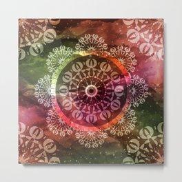 Mandala Geometric Spirit Metal Print