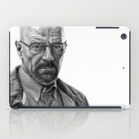 walter white iPad Cases featuring Walter White by robo3687