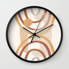 Pot Design 02 Wall Clock