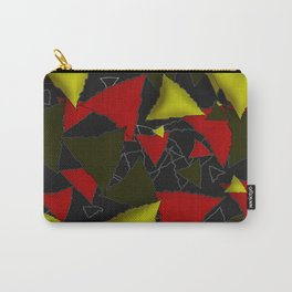 Three colored triangles Carry-All Pouch