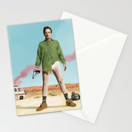 Bryan Cranston as Walter White  @ TV serie Breaking Bad Stationery Cards
