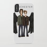 supernatural iPhone & iPod Cases featuring supernatural by f5ver