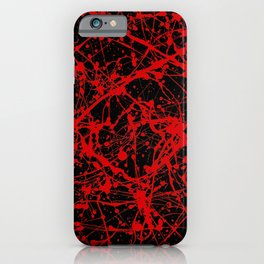 Splat! 15 (Vampire Kisses) iPhone Case