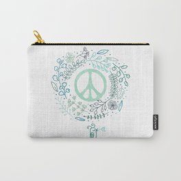 Peace is the way Carry-All Pouch