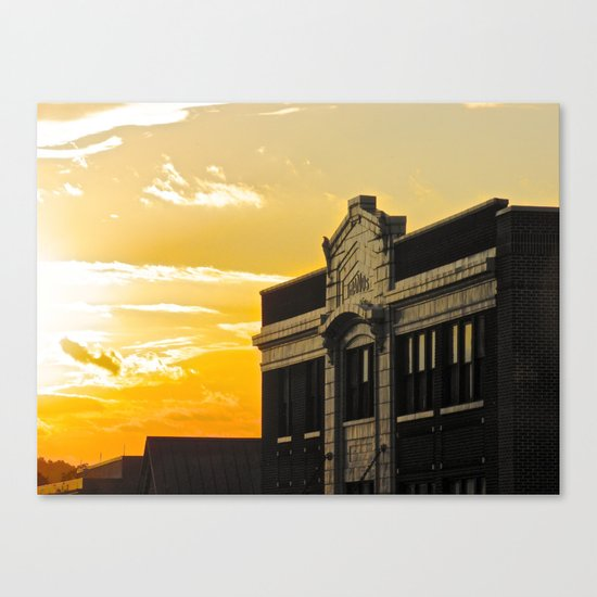 Palace Theatre Sunset Canvas Print