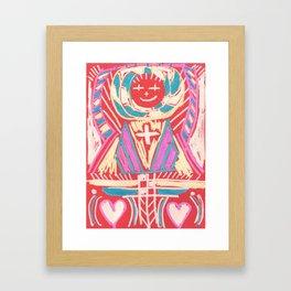 abundant love Framed Art Print