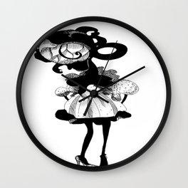 Fauna queen Wall Clock