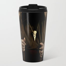 The wizard with skull pendant Travel Mug