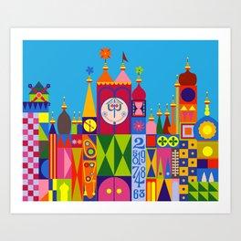 It's a Small World Art Print