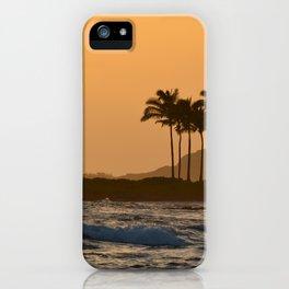 Sunset in Kauai iPhone Case