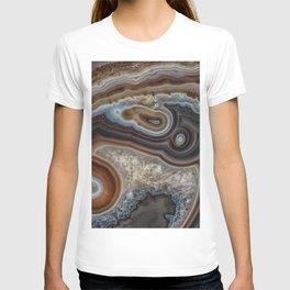 Mocha swirl Agate T-shirt