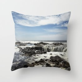 Thor's Well, No. 1 Throw Pillow