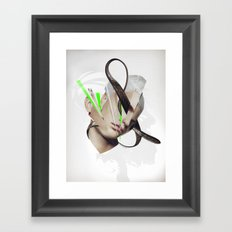 Excellence is obedience Framed Art Print