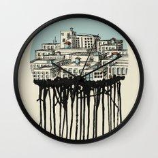 Primary City Wall Clock