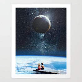 Together Alone Art Print