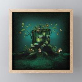 Wizard Stump Framed Mini Art Print