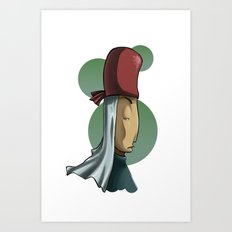 Snobby Priest Art Print