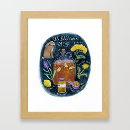 Wildflower Mead Framed Art Print