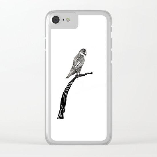 Perch Clear iPhone Case