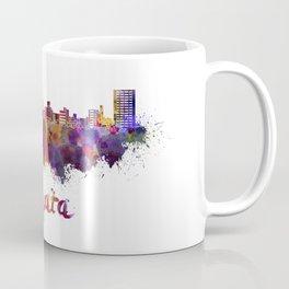 Niigata skyline in watercolor Coffee Mug
