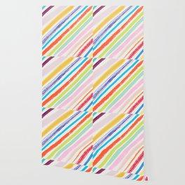 Rainbow Stripes Wallpaper