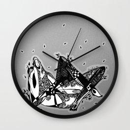 Avant que je m'ennuie - Emilie Record Wall Clock