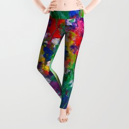 Wildflowers - Cheerful - Botanical Leggings