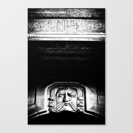 Disapproving Scowl Canvas Print