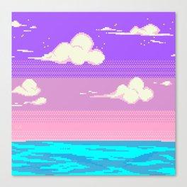 S k y Canvas Print