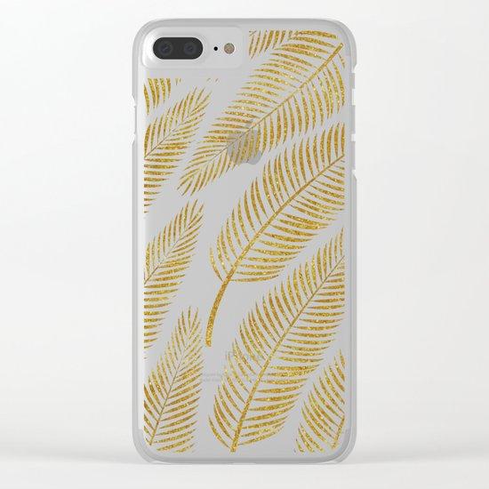 Golden Palm #society6 #decor #buyart Clear iPhone Case