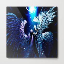 Angel Bid Metal Print