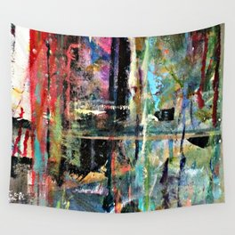 Colorful Bohemian Abstract 2 Wall Tapestry
