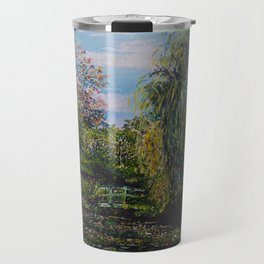 Monet's Garden Travel Mug