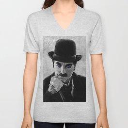 Charlie Chaplin Unisex V-Neck