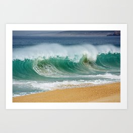 PORTUGAL ... wave I Art Print