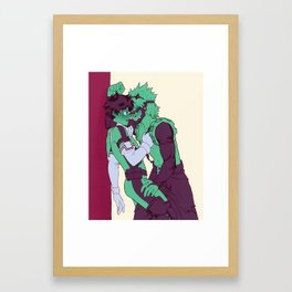 so manly Framed Art Print