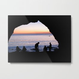 Light At The End Metal Print