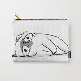Sad Mochi the pug Carry-All Pouch