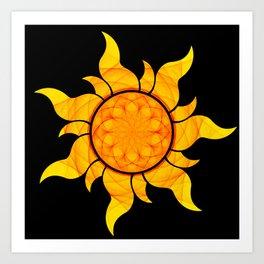 Seeds of the Sun  Art Print