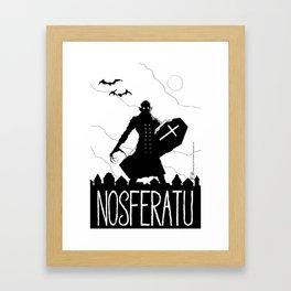 Nosferatu Framed Art Print